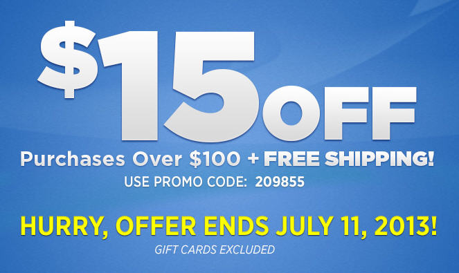 Golf Town $15 Off Purchase Over $100 + Free Shipping (Until July 11)