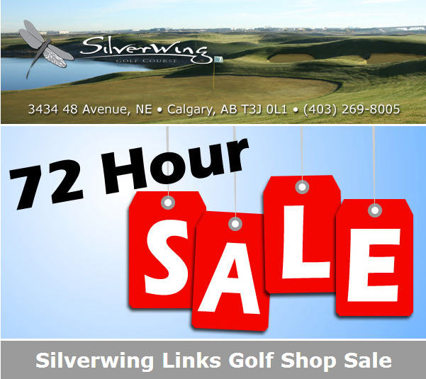 Silverwing Golf Shop Blow Out Sale - 30 to 80 Off (Dec 6-8)
