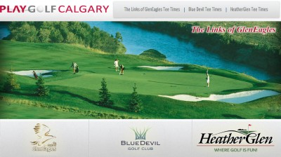 Play Golf Calgary Launching Dynamic Pricing at GlenEagles, Blue Devil and HeatherGlen Golf Course
