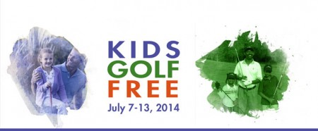 Take a Kid to The Course Week Kids Golf Free (July 7-13)