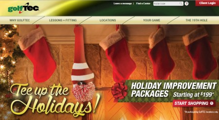 GolfTEC Holiday Improvement Packages (Until Dec 31)
