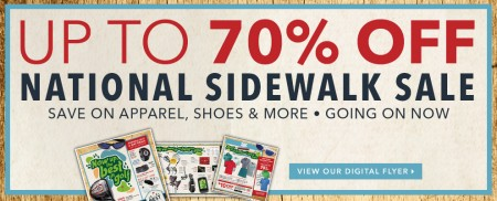 Golf Town National Sidewalk Sale - Save up to 70 Off (July 23-26)