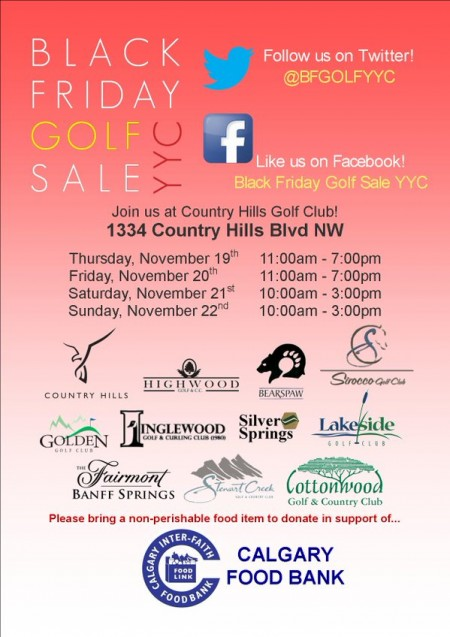Country hills golf club black friday golf sale nov 19 22 for Las vegas hotels black friday deals