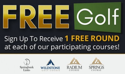 Windmill Golf Group Receive up to 4 FREE Rounds of Golf!