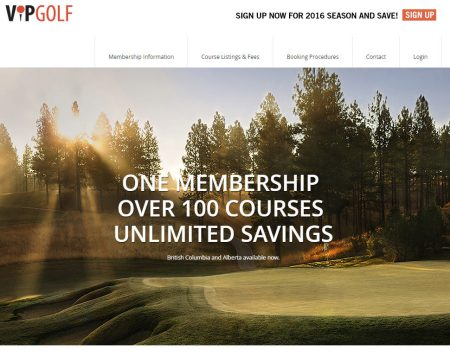VIP Golf Save 40-60 Off Green Fees! 2016 Memberships on Sale Now